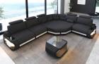 Modern Fabric sectional corner Sofa Bel Air L shape in dark-grey - Mineva8