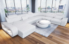 Luxury sectional sofa Chesterfield Optik Charlotte XL in white