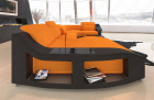 Fabric Sofa Palm Beach U Shape in orange - Mineva16