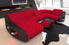 Fabric Sofa Palm Beach U Shape in red - Mineva20