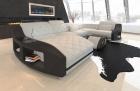 Fabric Sofa Palm Beach U Shape in beige - Hugo1